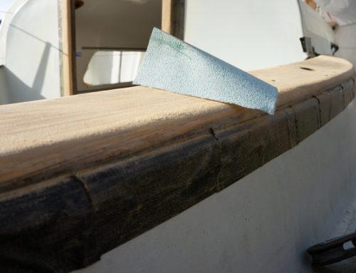 Equipment zum Schleifen von Gelcoat, GFK und Holz